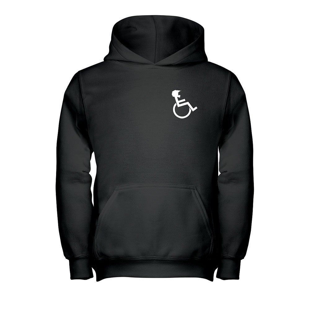 WHEELZ Black Hooded