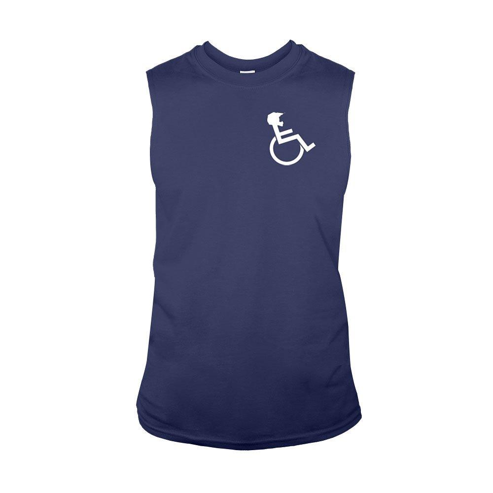 """WHEELZ"" Sleeveless Navy T-shirt"