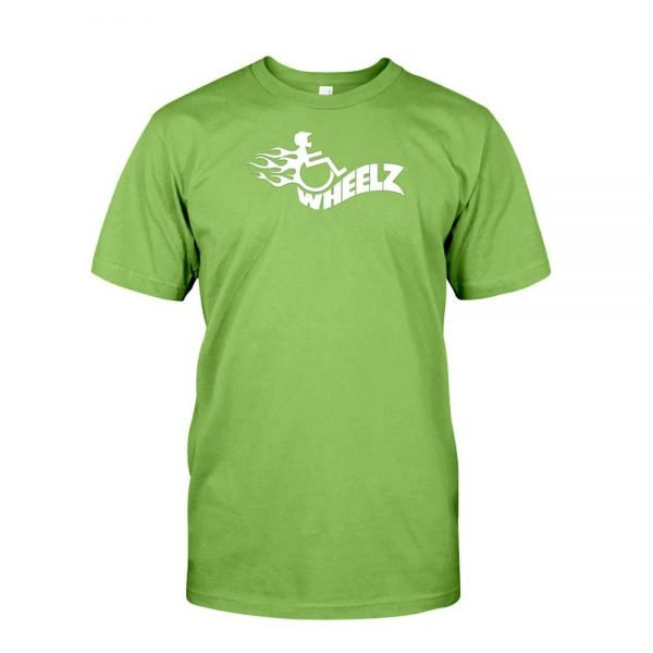 WHEELZ FLAME II Lime T-Shirt