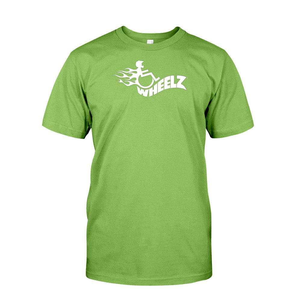 WHEELZ FLAME II Lime T-Shirt